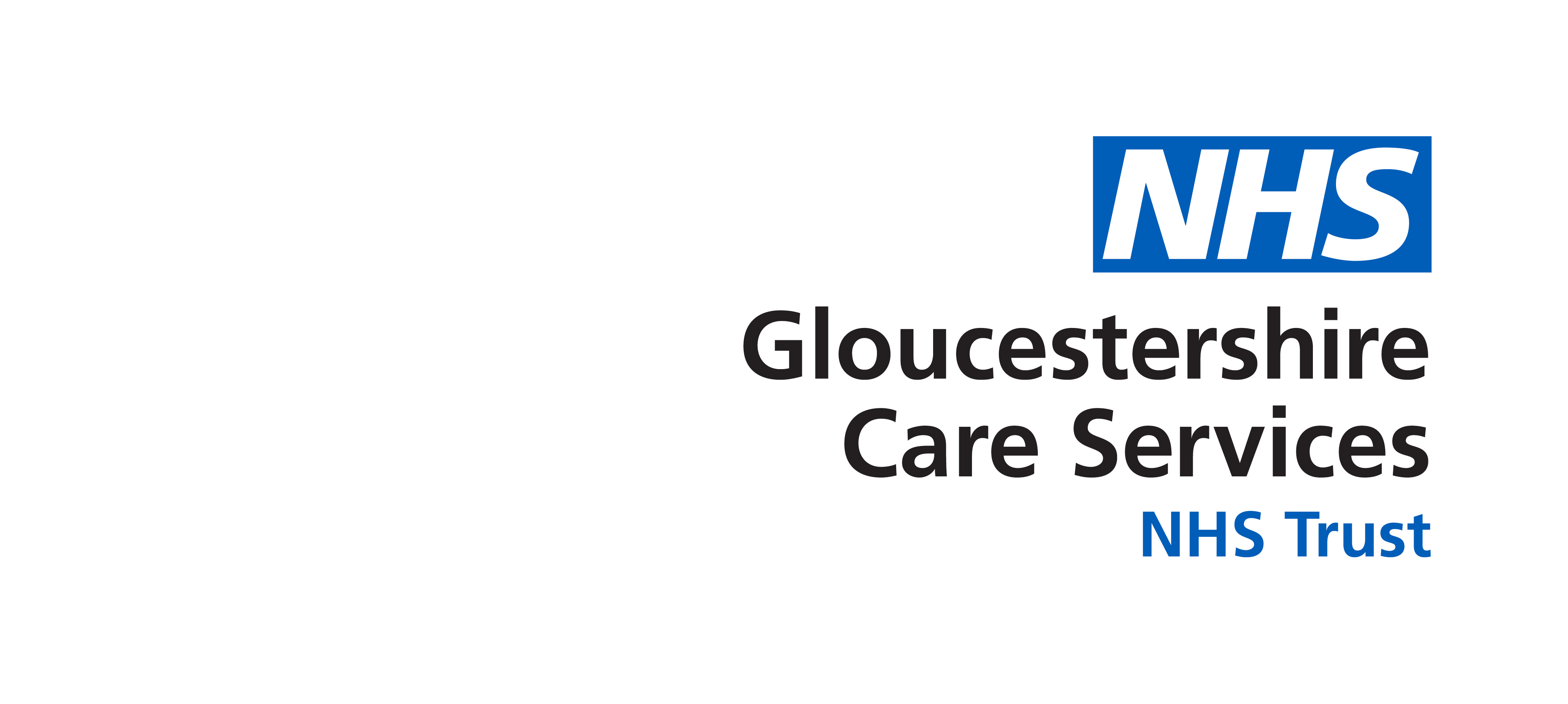 Gloucestershire Care Services NHS Trust RGB BLUE